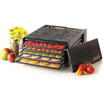 3500b 5 tray electric food dehydrator adjustable