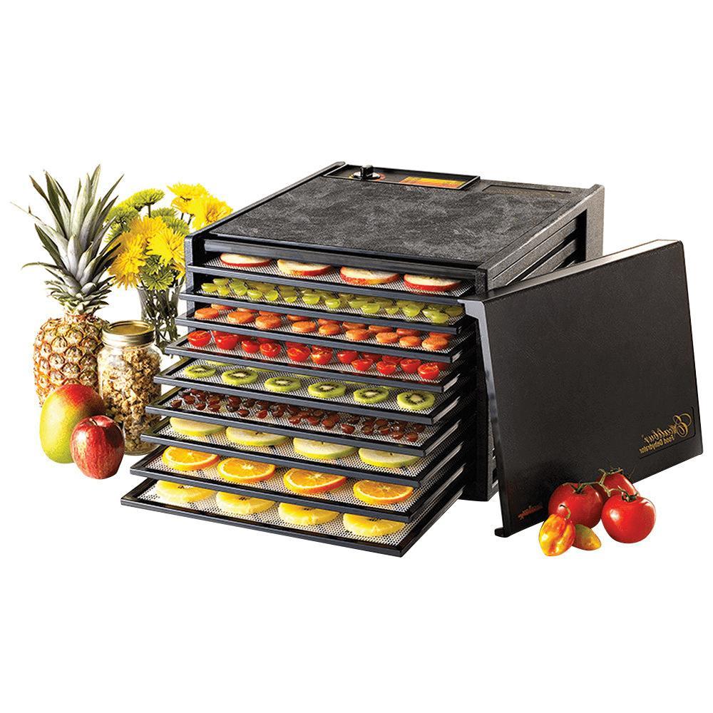 3900b 9 tray deluxe food dehydrator fast