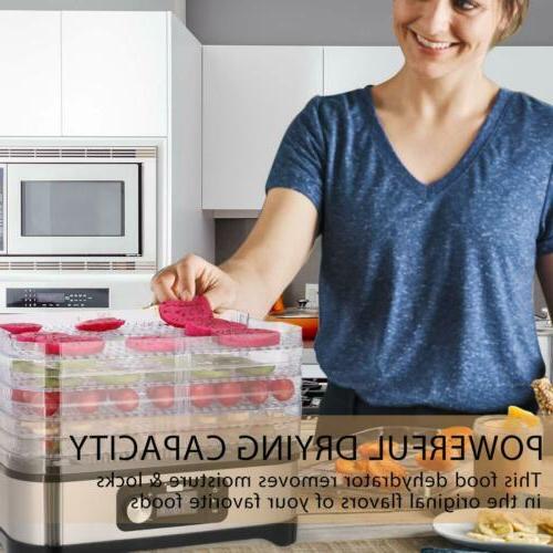 Food Dehydrator Preserver Vegetable Dryer