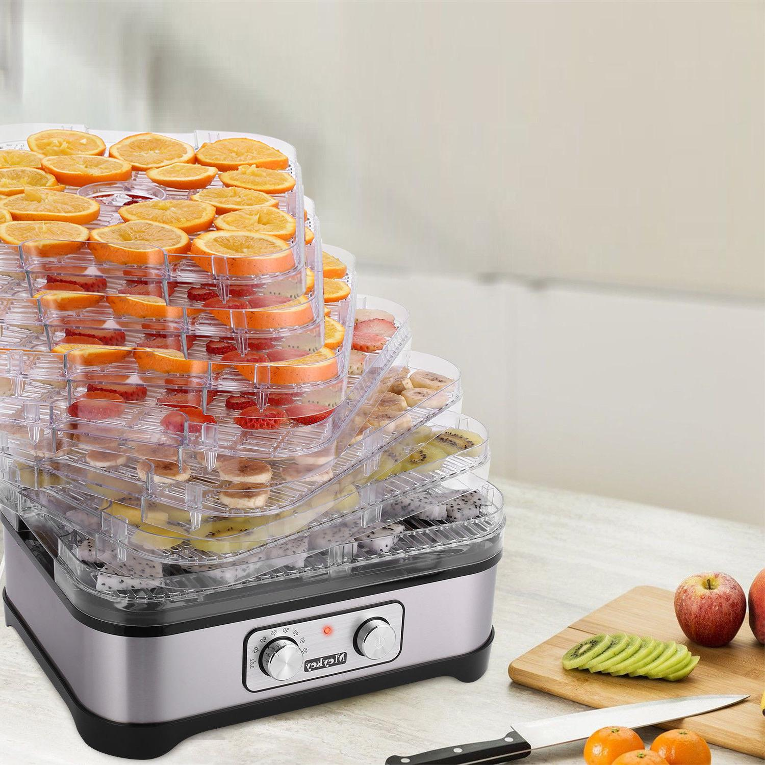 5-8 Tier Food Dehydrator Machine Dryer Herbs BPA