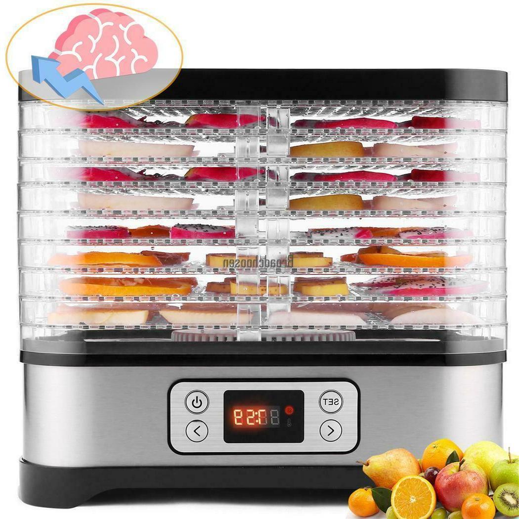 5-8 Trays Food Dehydrator Fruit Dryer