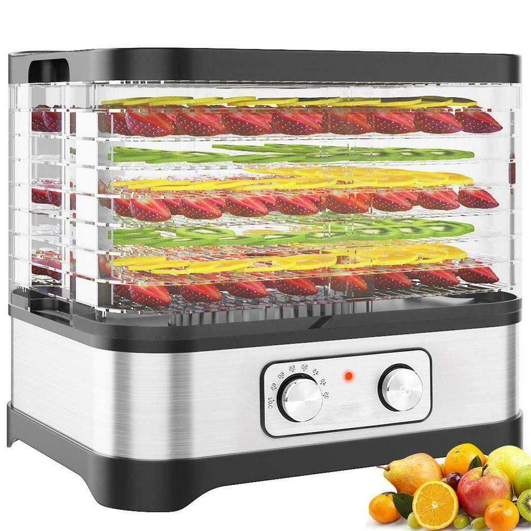 5-8 Food Dehydrator Fruit Dryer Beef Jerky~Preserver