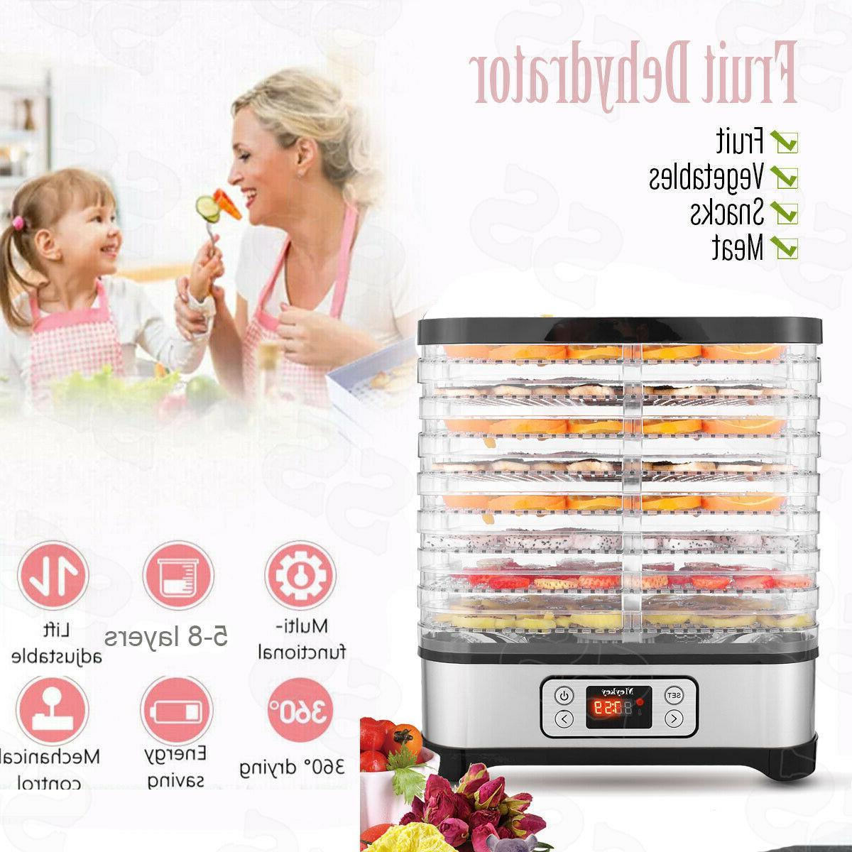 Food Steel Fruit Dryer Commercial