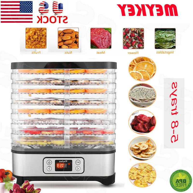5/8 Food Dehydrator Machine Fruit Dryer Jerky