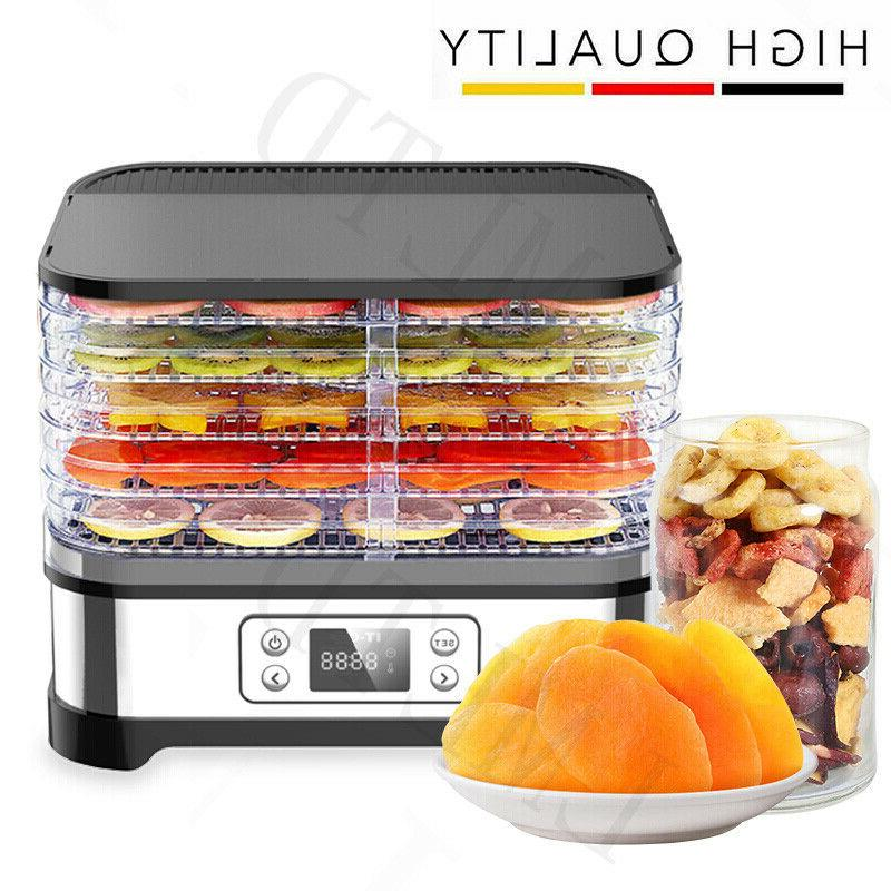 5tiers trays electric food dehydrator machine fruit