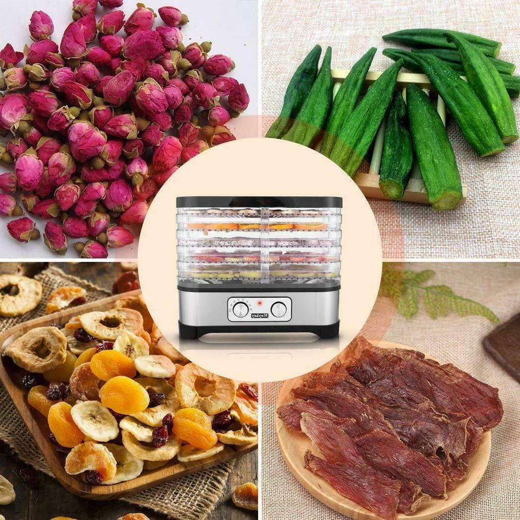 5-8 Dehydrator Machine Beef Herbs BPA-Free
