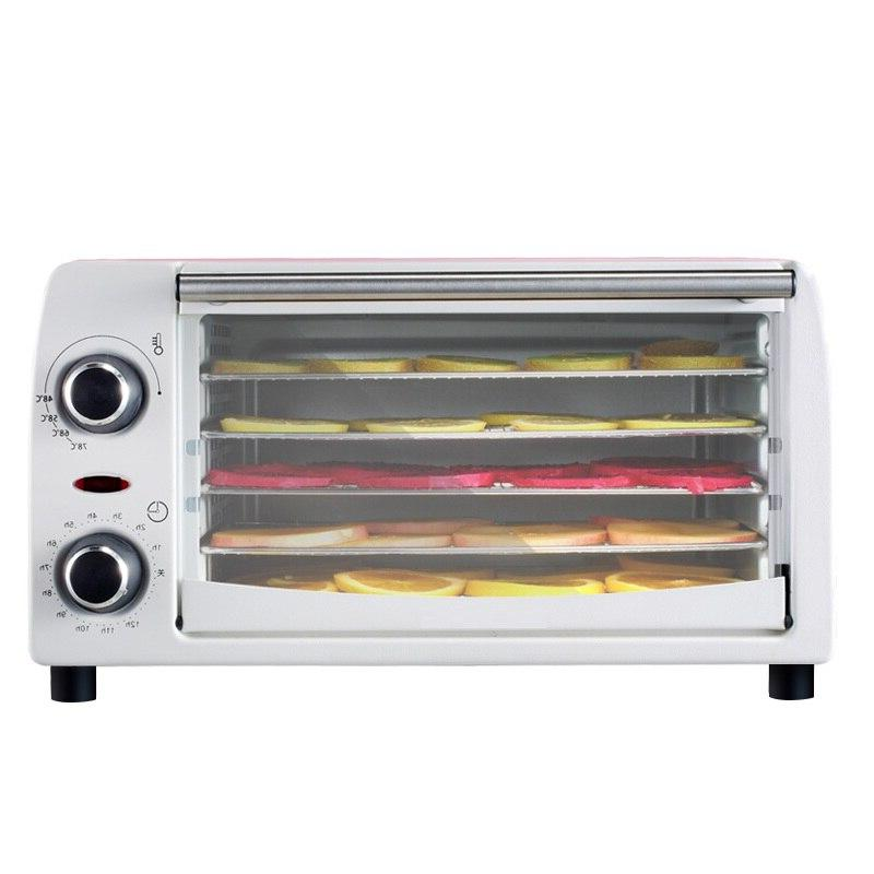 DMWD 5 Layer Home Food For Vegetables Children Snacks Pet Dehydrating Steel 300W