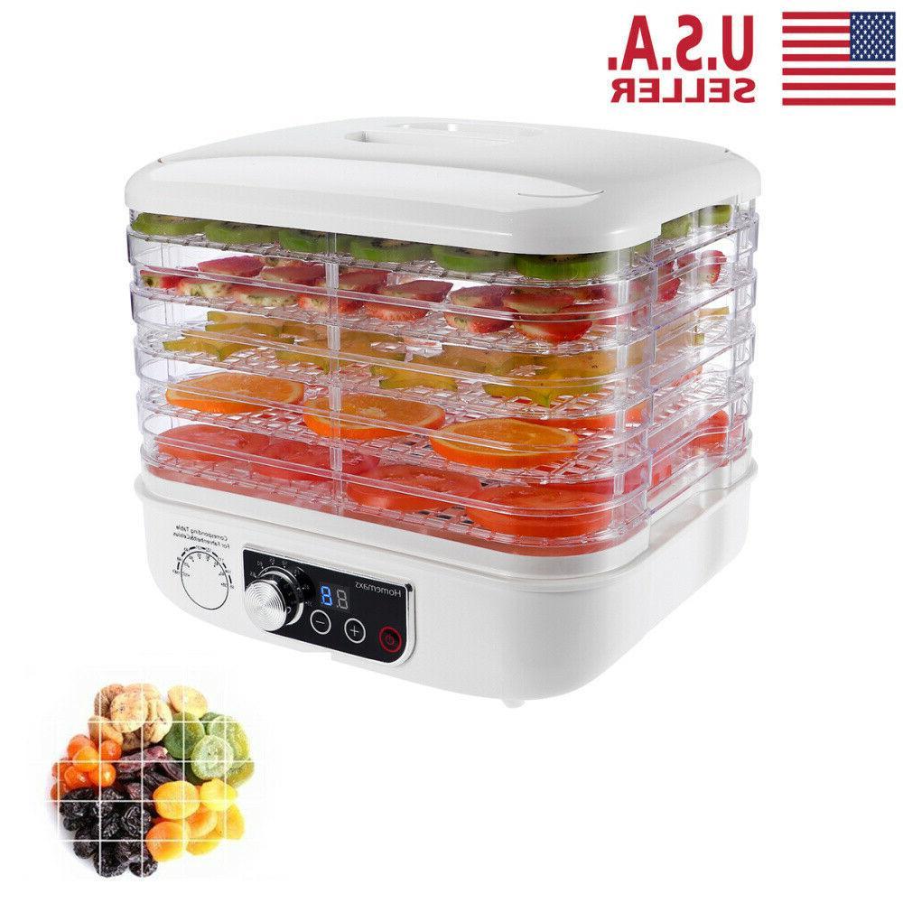 5 tier electric food dehydrator machine fruit