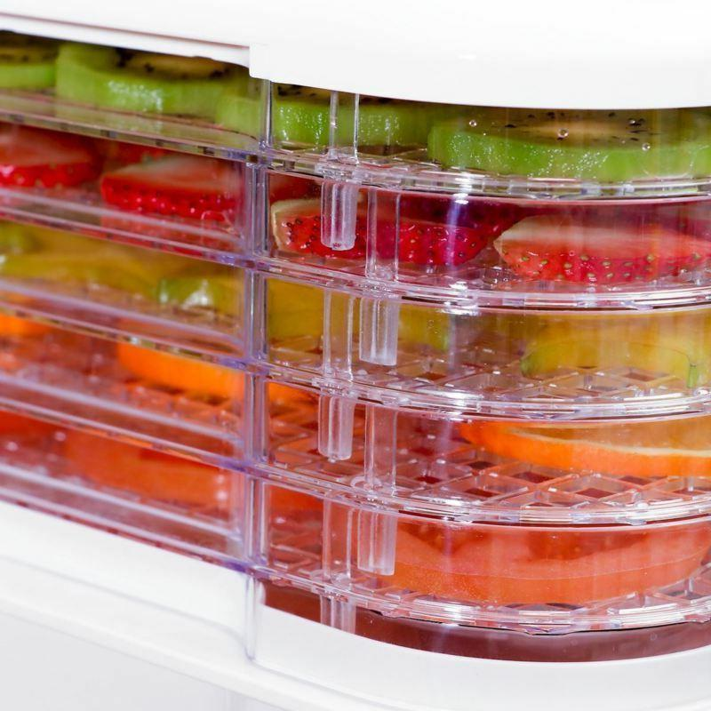 Food Dehydrator Tray Food Fruit Dryer Temperature Control