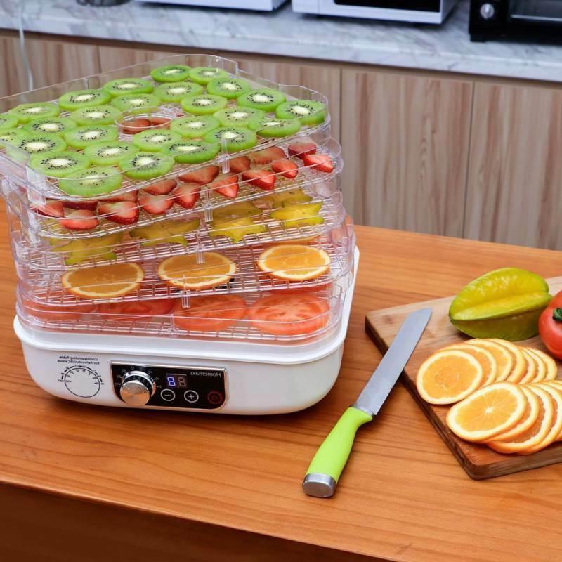 5 Tray DEHYDRATOR Beef Jerky Snack Machine Fruit Dryer Maker