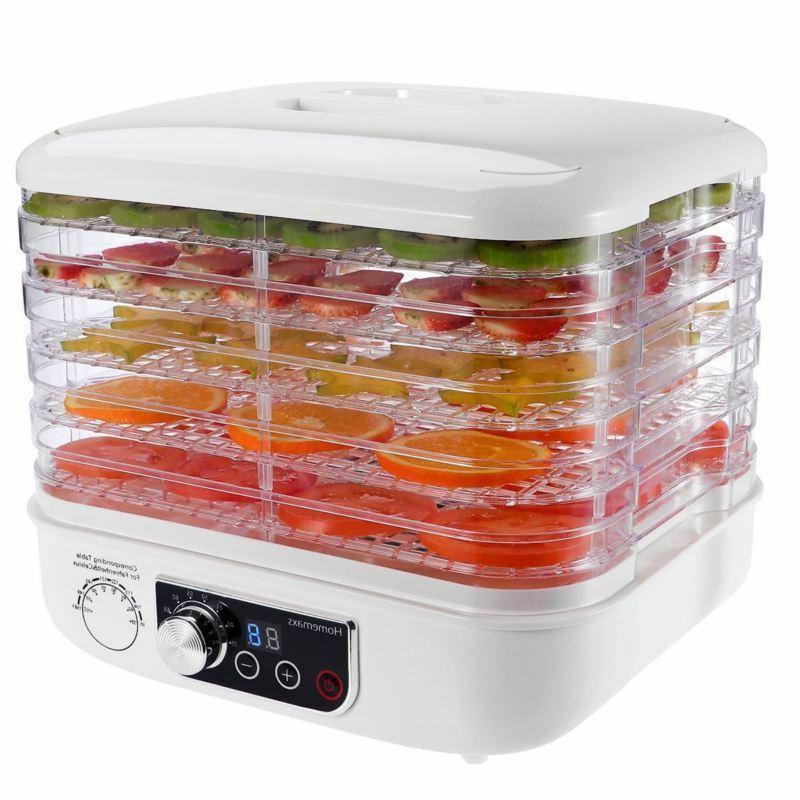 5 Tray Electric FOOD DEHYDRATOR Beef Jerky Snack Machine Fru