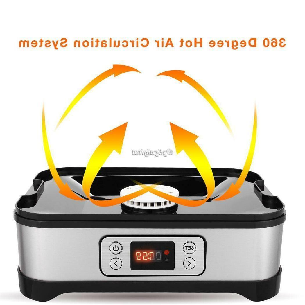 5 Tray Electric FOOD DEHYDRATOR Beef Snack Machine Dryer Maker-
