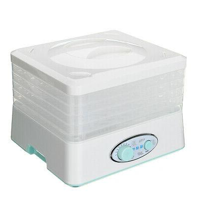 5 Tray Electric Food Dehydrator Machine Dryer Maker