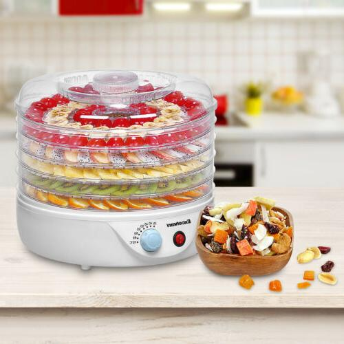 5 tier electric food fruit dehydrator food