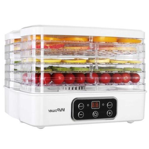 5 tray electric food dehydrator machine fruit