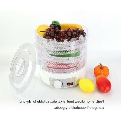 5 Tray Temperature Adjustable Fruit Dryer Meat