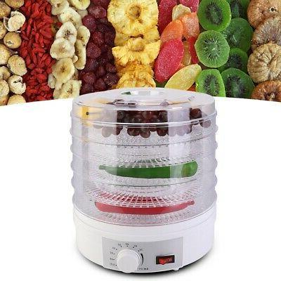 5 Tray Temperature Fruit Meat Jerky