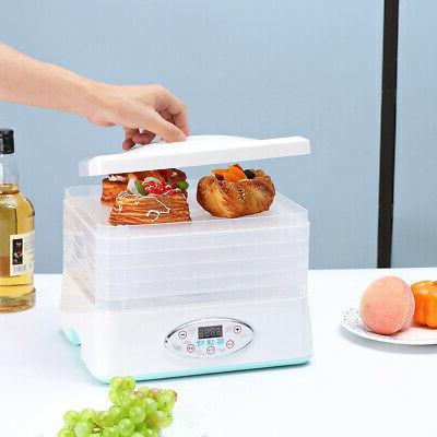 5 Trays Fruit Vegetable Dryer Machine 250W