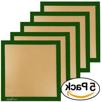 5 x ultra silicone 14x14 non stick