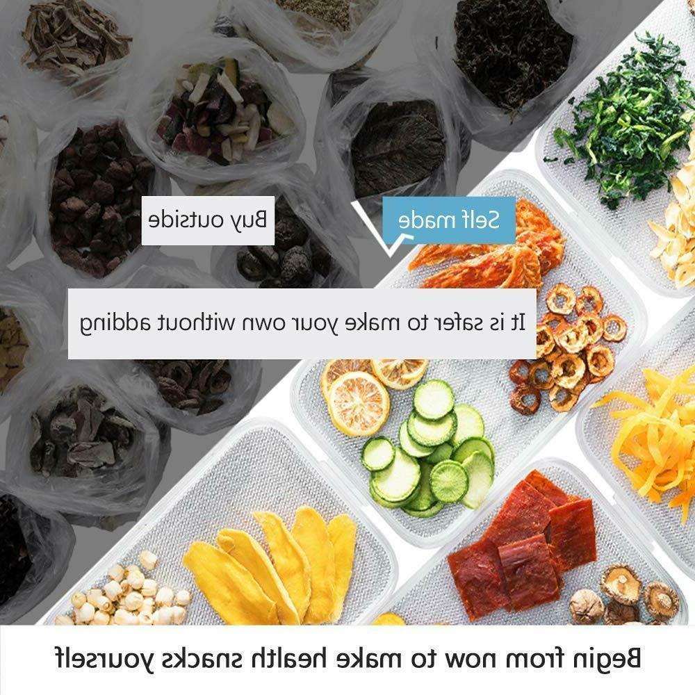 5 Food Dehydrator Machine Dryer