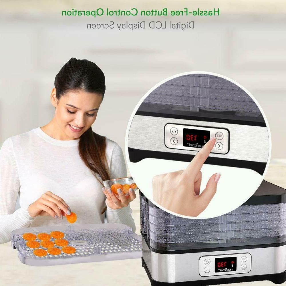 5 Layers Food Timer,Temperature Control ,