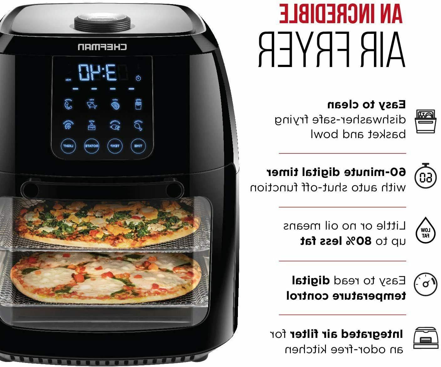 Chefman Air Fryer+ Convection Oven