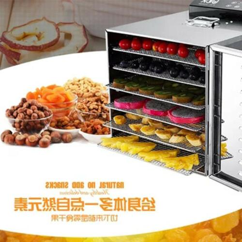 6 Layers Professional Food Dehydrator Drying Machine Stainle