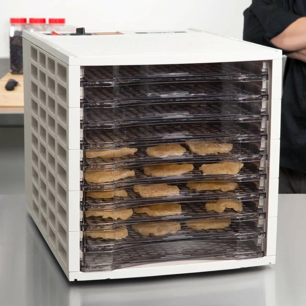 6 or 10 tray food dehydrator dehydrates