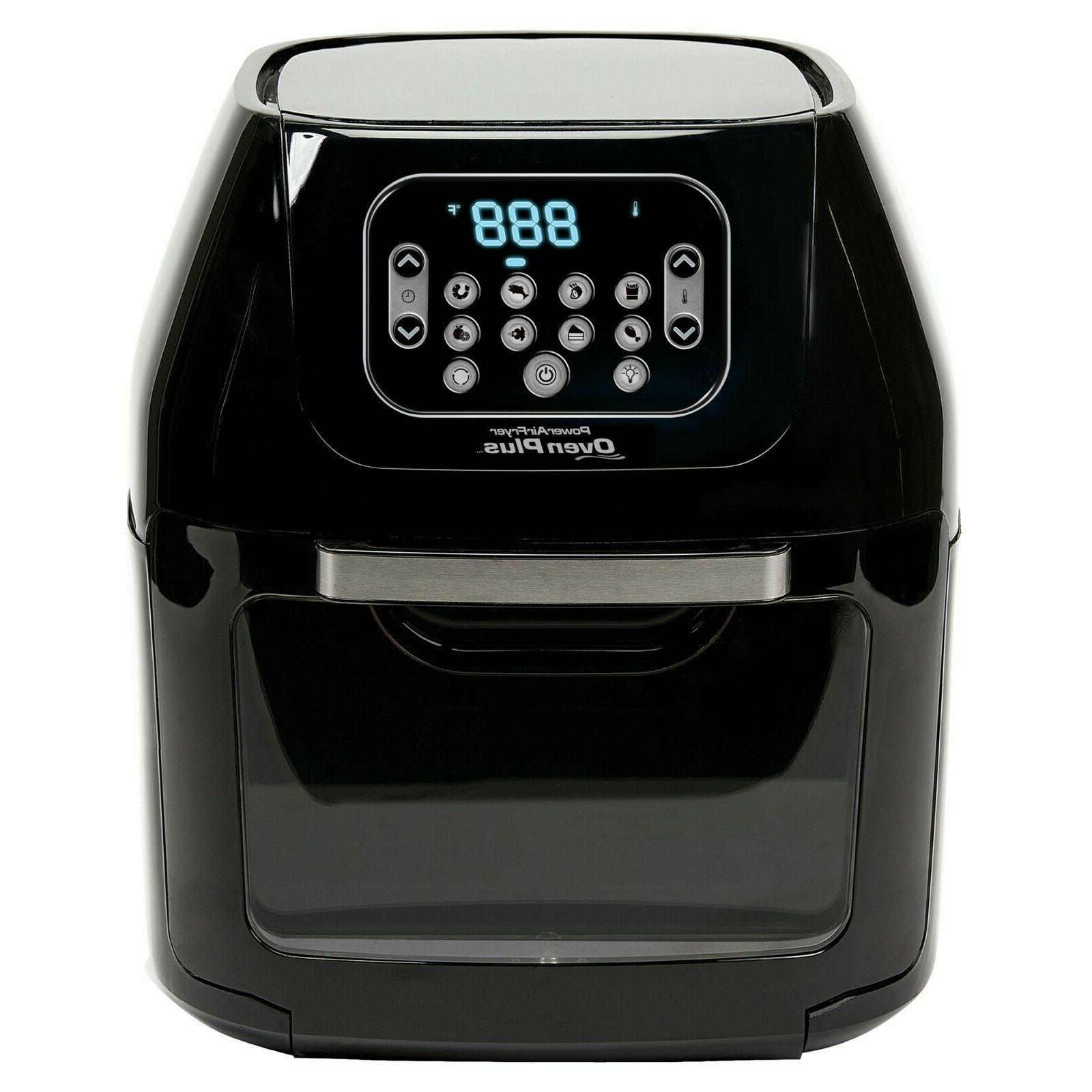 6 quart airfryer black small kitchen appliances
