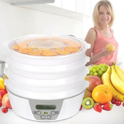6 Food Dehydrator Machine Fruit Herbs