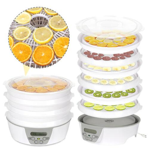 6 Tier Electric Food Dehydrator Machine Fruit Dryer Herbs Be