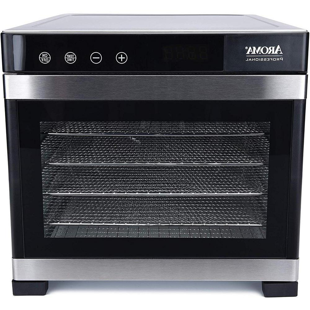 6 Tray Cuisinart Food Dehydrator Door Temperature Control