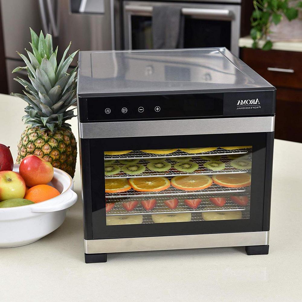 6 tray cuisinart food dehydrator w glass