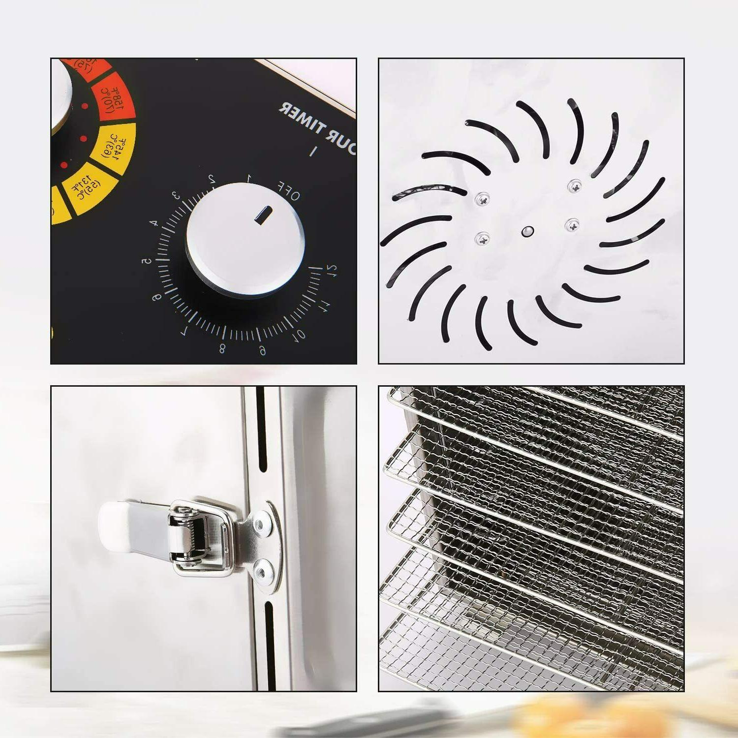 6 Food Dehydrator Machine Stainless