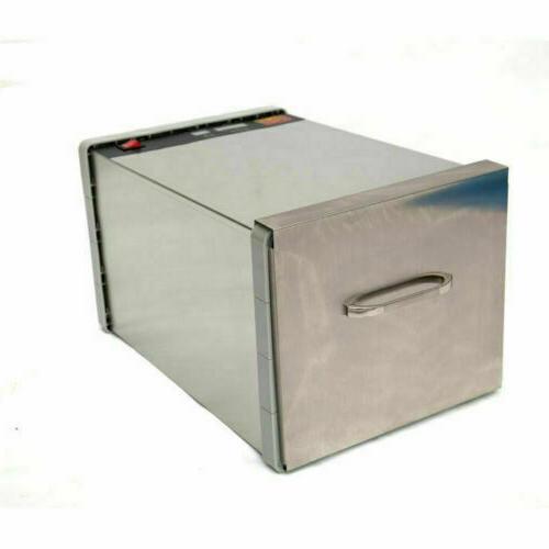 630W Tray Steel Food Dehydrator Plastic