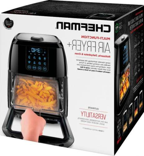 CHEFMAN - Multi-Function Black