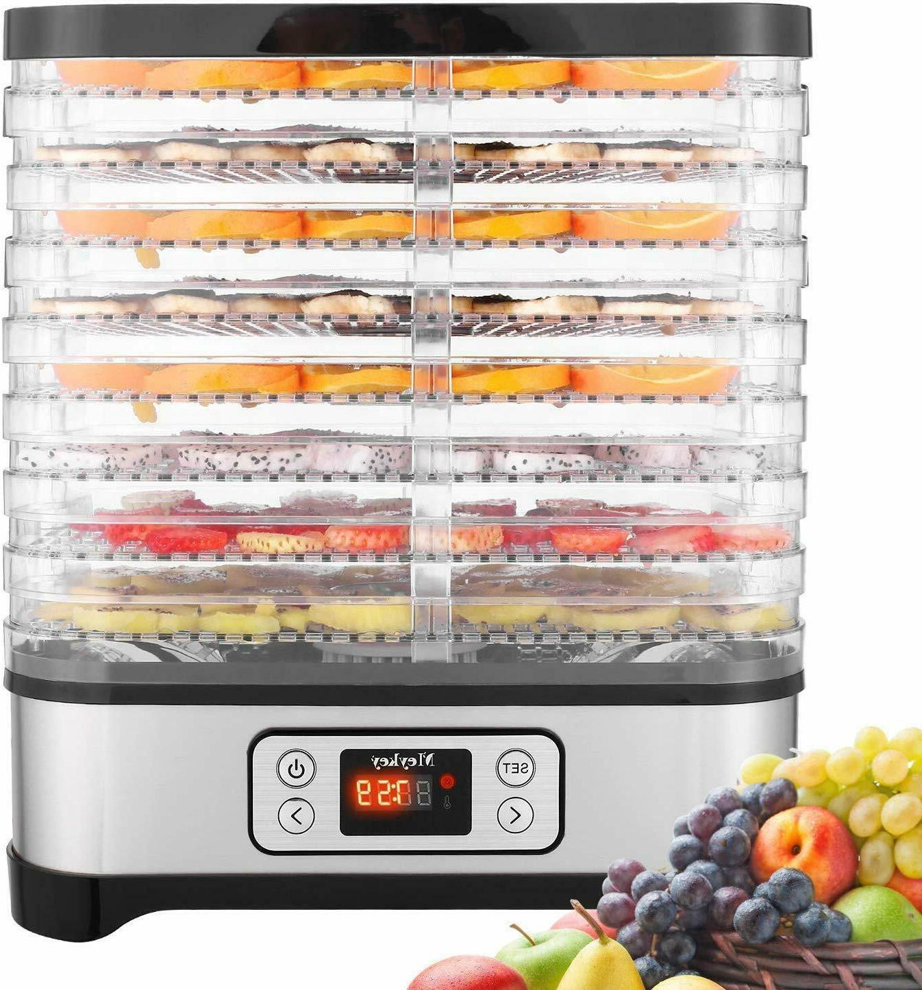 8 Layers 400W Steel Vegetable Dryer Machine