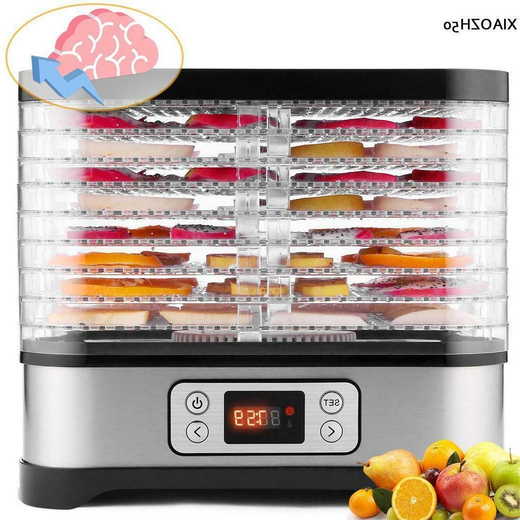 8 Tier Food Dehydrator Machine