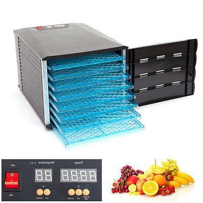 8 tray food fruit dehydrator with door