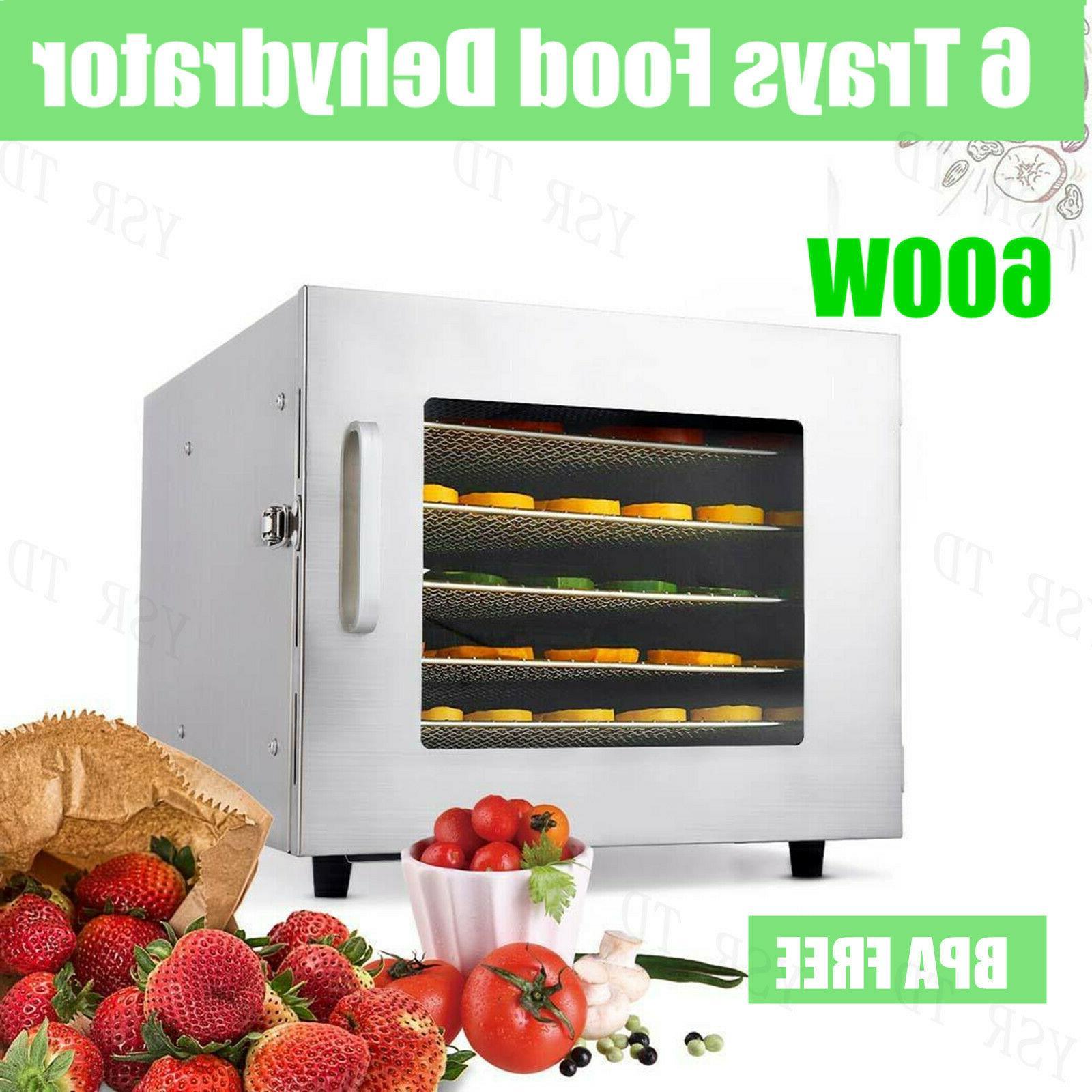 HOMDOX Food Dehydrator Machine Professional Electric Multi-T