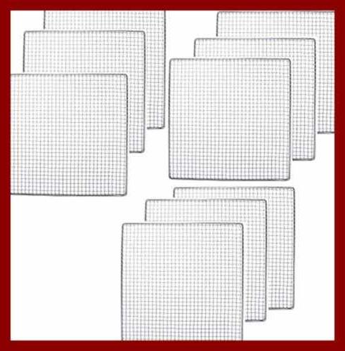 9 PACK - Dehydrator Stainless Steel Replacement UPGRADE Shelf Mesh