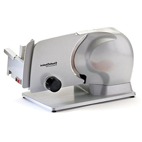 Chef's Choice 665 EC665 Professional Electric Food Slicer 8.