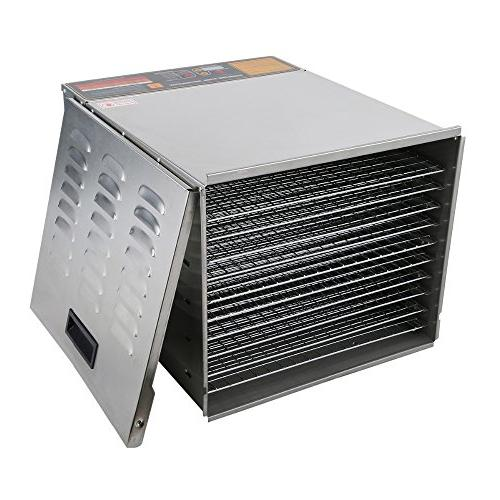 Della Commercial 1200W Food Nut Fruit Sausage Jerky Stainless