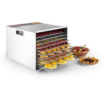 Della Commercial 1200W 10-Tray Food Dehydrator Nut Durable F