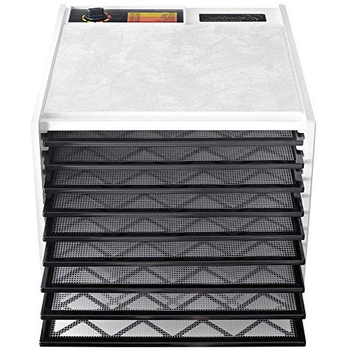 Excalibur 3900W Electric Food Dehydrator Adjustable Faster Includes Made in White
