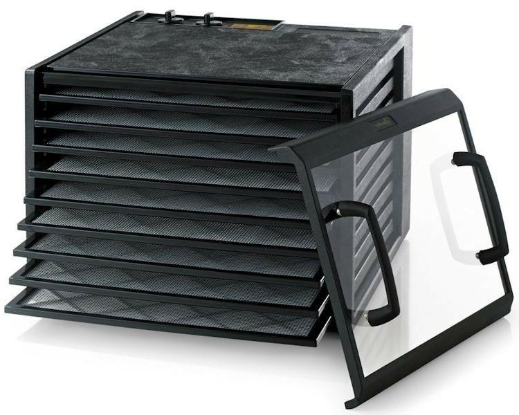 Excalibur Food Dehydrator Clear Door Settings and in USA,