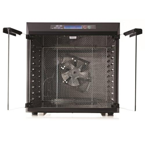 Excalibur Dehydrator 10-Tray Glass Doors, Steel with Stainless