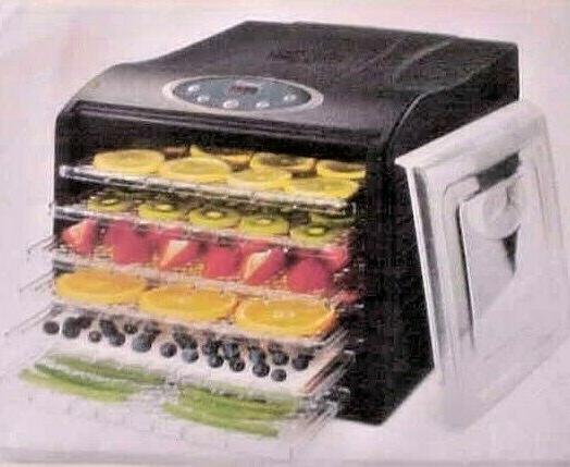 Ivation 6 Tray Digital Electric Food Dehydrator Machine 480w