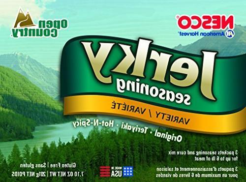 NESCO BJV-25, Works, 3 Flavors Pack