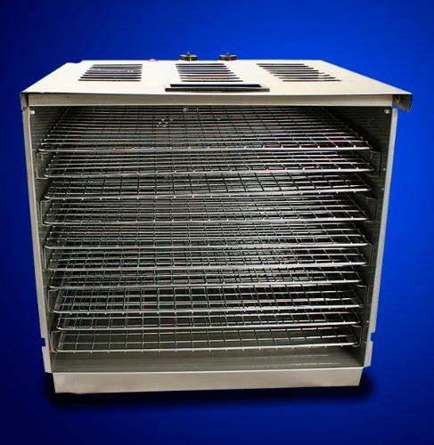 New Stainless Steel Fruit Jerky Dryer Blower Dehydrator